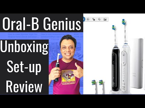 Oral-B Electric Toothbrush Costco   Unboxing, App Set-Up, Pros-Cons And Review   Nilofar Naaz  