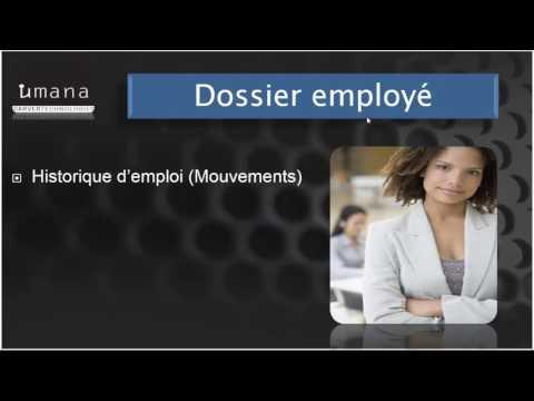 Logiciel RH Paie et Temps - HRMS & HRIS - UMANA