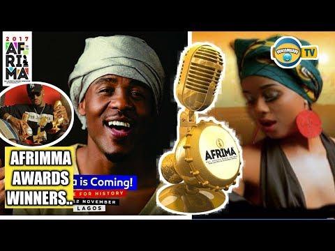 Alikiba Na Nandy Washinda Tuzo Za #Afrima 2017 thumbnail