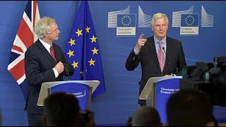 LIVE: News conference with EU