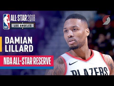 Damian Lillard All-Star Reserve | Best Highlights 2017-2018