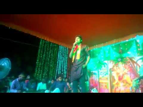 2017 RAJESH ROSHAN BHOJPURI HIT SONG STAGE PROGRAM MAA DURGA