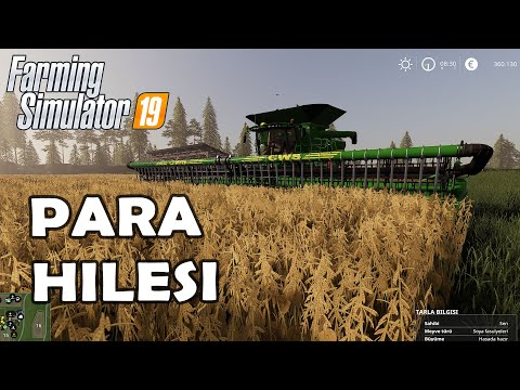 FARMİNG SİMULATÖR KOLAY PARA HİLESİ I Farming Simulator Money Cheat I FS19 I FARMING SIMULATOR 19