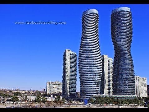 Mississauga, Ontario: Driving Around City Centre