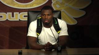 Royce Freeman post UVA