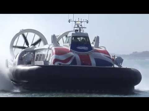 New Hovercraft on Portsmouth to Ryde Isle of Wight route