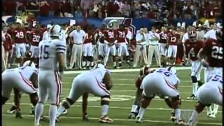 #1 Florida Gators vs #2 Alabama Crimson Tide 2009 SEC Championship