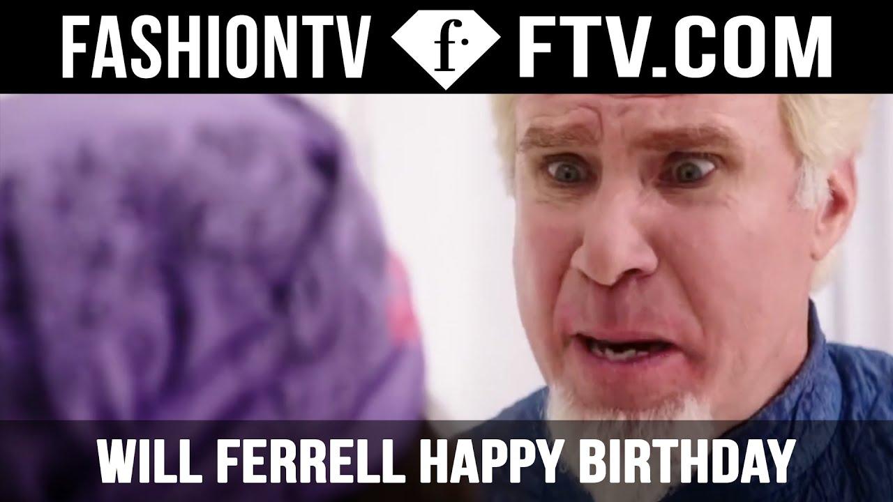 Will Ferrell Happy Birthday July 16 Ftvcom Youtube