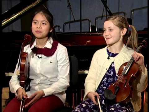 אינטרמצו עם אריק |  Bach: Concerto for Two Violins