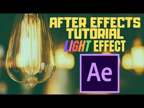 Adobe After Effects Tutorial : Basic Light Tool| Tright Entertainment | thumbnail