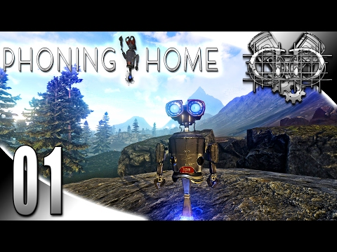 Phoning Home Gameplay :EP1: ION Phone Home! (HD Open World Survival Let's Play PC)