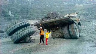 Senya and Giant Truk Without Wheels.
