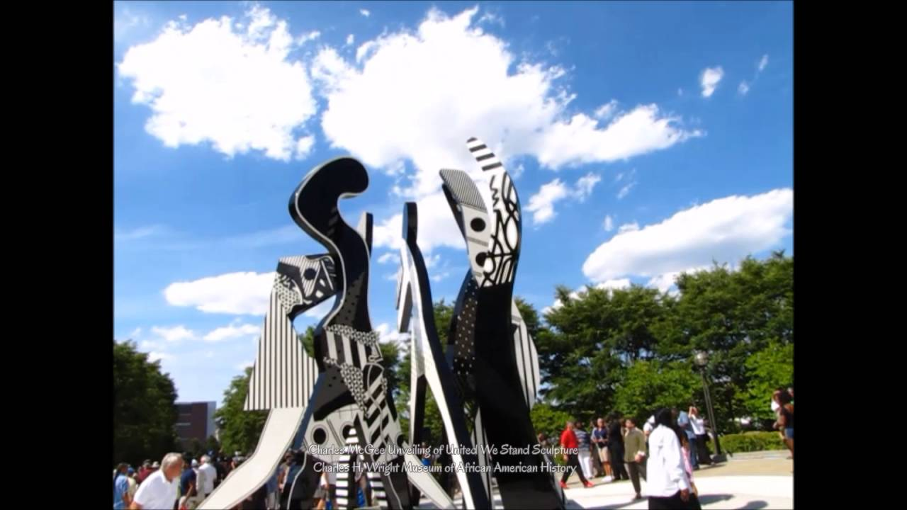 United We Stand | Artist Charles McGee's | Sculpture Unveiling 04 - 2016