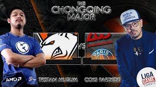 [DOTA 2] Tretan Coki Roasting apa lagi? PSG.LGD VS Virtus Pro (BO3)- Chongqing Major [LIVE]