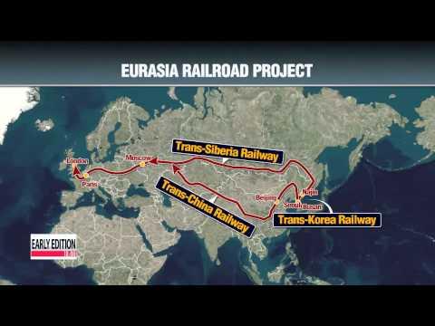 Trans-Korea railway to bring myriad of benefits to two Korea′s   유라시아 철도 사업 실현 가
