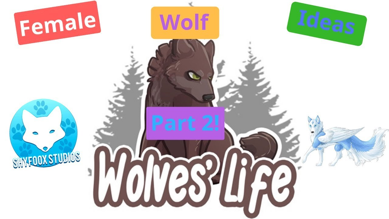 Roblox Wolves Life 3 Female Wolf Ideas Part 2 - roblox songs idea