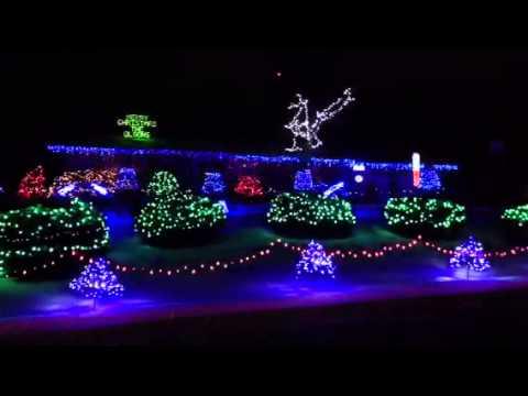 Singing Christmas lights - YouTube