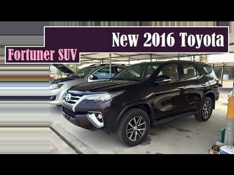 new car release philippinesNew 2016 Toyota Fortuner SUV this is it nabbed completely