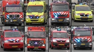 Hulpdiensten massaal onderweg naar compagniebrand GRIP 2 Rotterdam