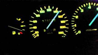 Daewoo Leganza 2.0 Acceleration 0-200km/h