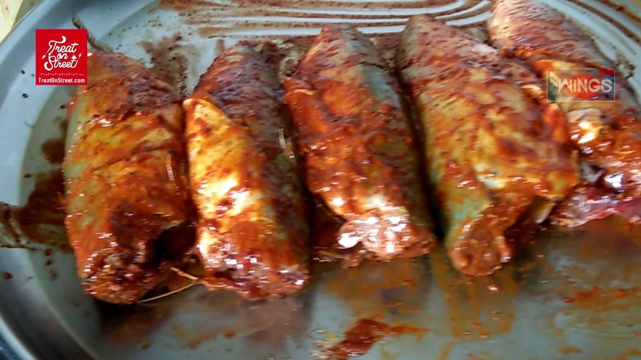 Bangada fish fry how to make at home malvani food for Food for fish at home