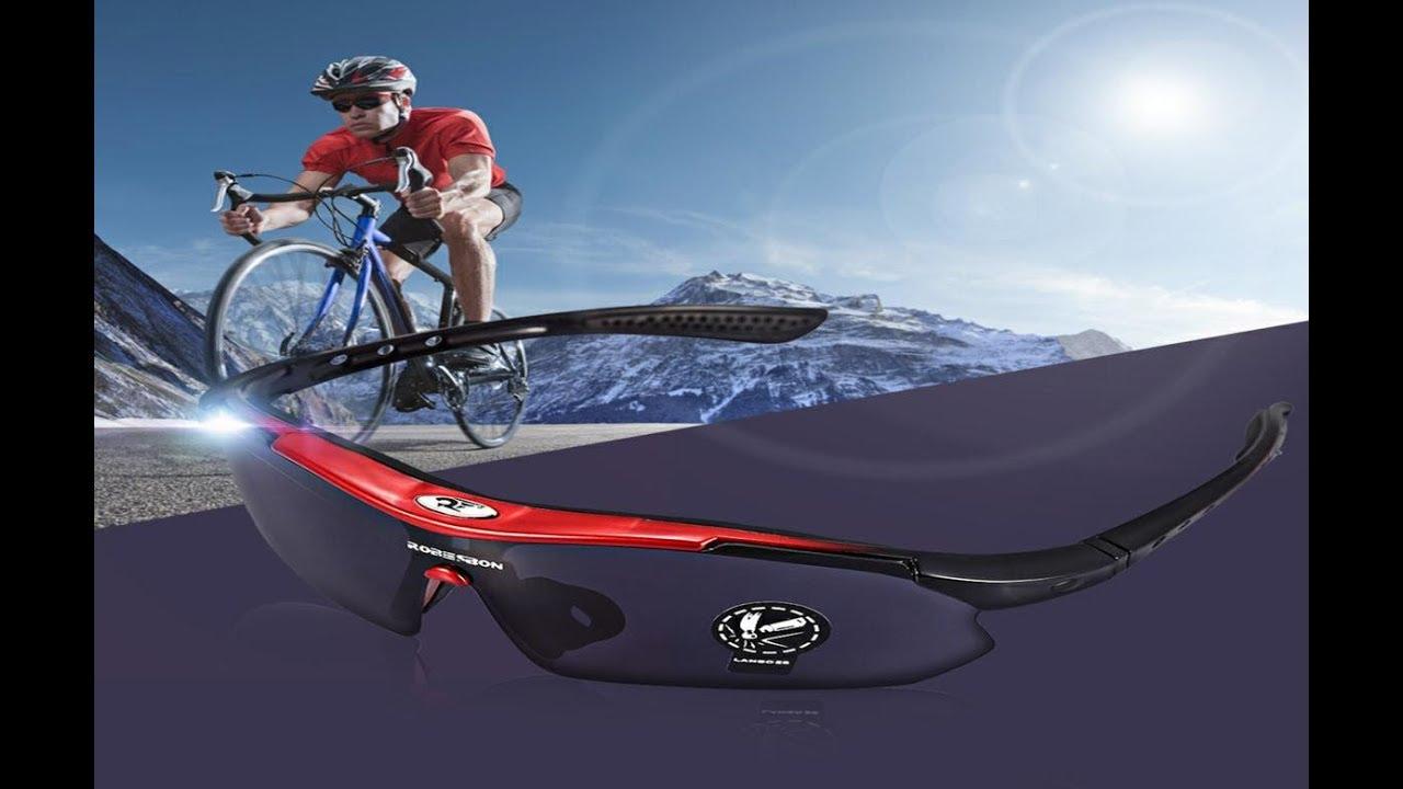 e934d233cc379 Unboxing Óculos De Sol Esportivo Bike Robesbon Uv400 - YouTube