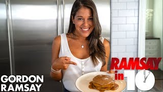 Gordon Ramsay Challenges A Hell's Kitchen Finalist To Make A Pumpkin Spice Breakfast   Ramsay in 10