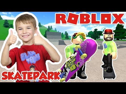 DOING AWESOME TRICKS In ROBLOX SKATEPARK (ROBLOXIAN HIGHSCHOOL)
