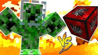 CREEPER ESPACIAL VS. LUCKY BLOCK MONSTER (MINECRAFT LUCKY BLOCK CHALLENGE)