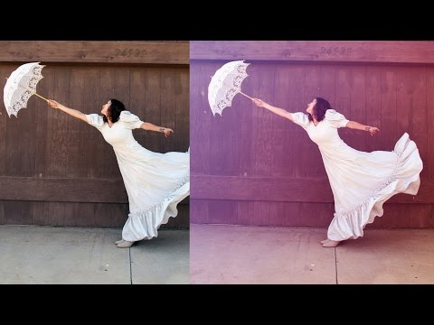 Photoshop Tutorial | Amazing Color Correction Photoshop Actions | Tasty Tutorials