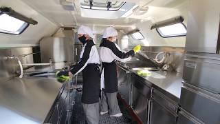 Развертывание полевых лагерей в местах размещения мобильных госпиталей в Буйнакске и Ботлихе