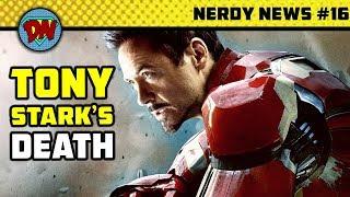 Iron Man's Death, Vin Diesel as Superhero, Captain Marvel, Justice League   Nerdy News #16