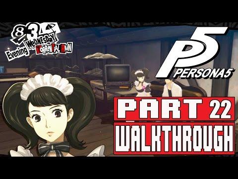 Persona 5 Gameplay Walkthrough Part 22 Meeting Hifumi, Chihaya, & Naguri Mementos
