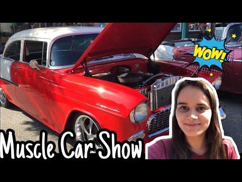 the-muscle-car-show- -vancouver-  -vidushi-aryan