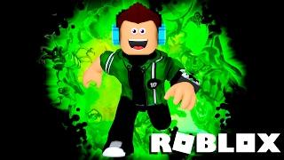 Roblox - VIREI O BEN 10!! (Super héros Tycoon)