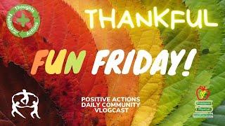 🥳 Fun Friday! Week 11 💜 THANKFUL, agradecida/o ⏰ nov, 13, 2020
