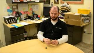 Telling difference between Gold and Iron Pyrite