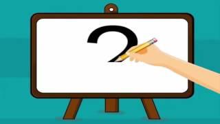 Aprender el número 2 - Videos Educativos thumbnail