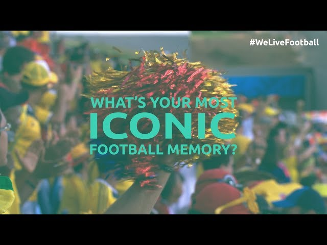 What's your most iconic football memory