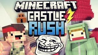 REWI RICHTIG VERAR$CHT! - Minecraft CASTLE RUSH VS Rewi #09| ungespielt