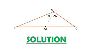Solution 92: A (not necessarily) Trisecting Median