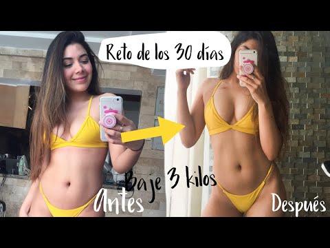 RETO! 30 DIAS COMIENDO SOLO RECETAS SALUDABLES- BAJE DE 3 KILOS