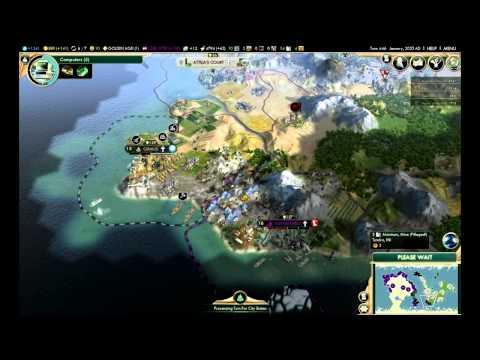 """Civilization 5: Brave New World - The Huns ep. 50 """"NUCLEAR WAR"""""""