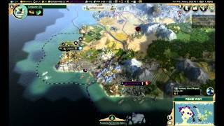"Civilization 5: Brave New World - The Huns ep. 50 ""NUCLEAR WAR"""
