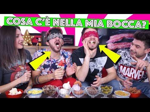 COSA C'E' NELLA MIA BOCCA - What's In My Mouth Challenge | Matt & Bise ft. Luca and Katy