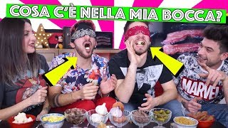 COSA C\'E\' NELLA MIA BOCCA - What\'s In My Mouth Challenge | Matt & Bise ft. Luca and Katy