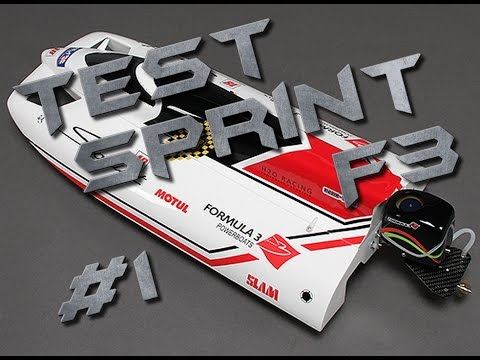 Test / Review - Offshore Hobbyking Sprint F3 - #1 Assemblage et réglages - H4ckmore
