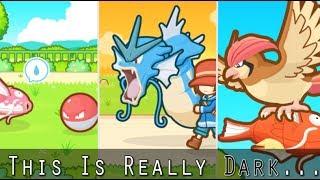 Pokemon Theory: The Dark-side of Magikarp Jump?