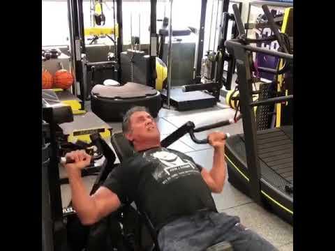 Sylvester Stallone, 72, training for Rambo 5 - Instagram ...