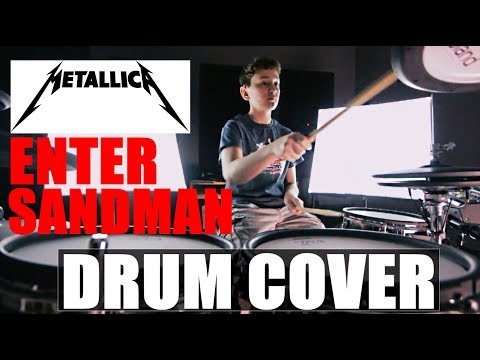 Metallica - Enter Sandman Drum Cover